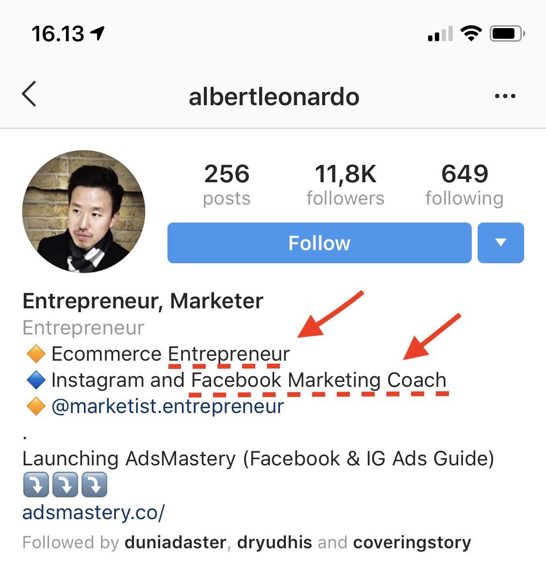 6 Cara Memaksimalkan Profile Bio Instagram Agar Keren Dan